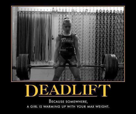 Deadlift or ELSE